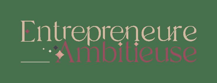 Logo d'entrepreneure ambitieuse